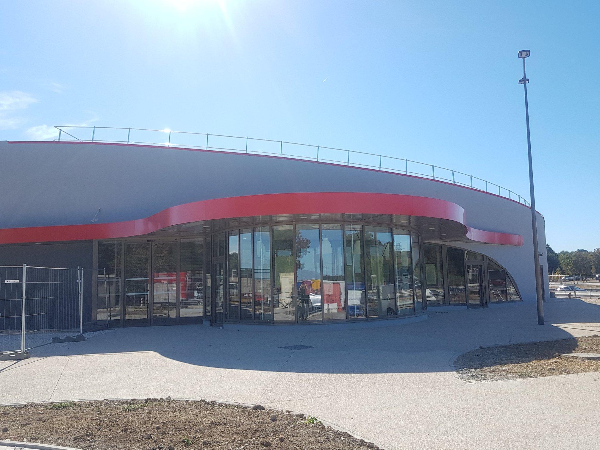 Ludovic Magnifico Architecture Aire de la Couline TOTAL